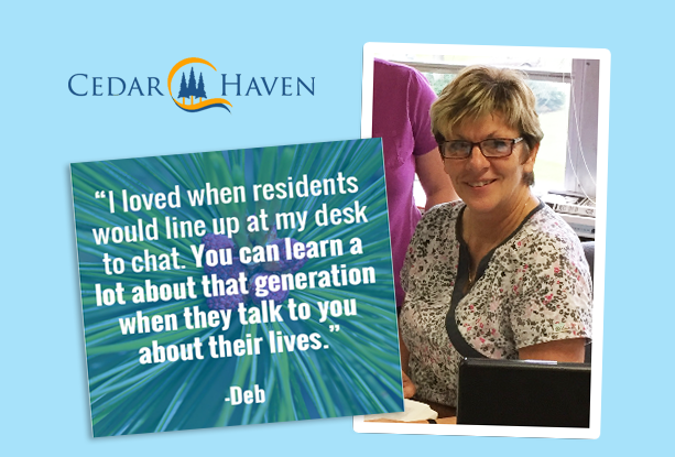 Staff Spotlight: Deb Muraira achieves 44 years of service at Cedar Haven