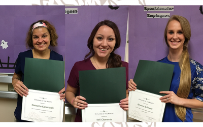 Congrats! October Employees of the Month