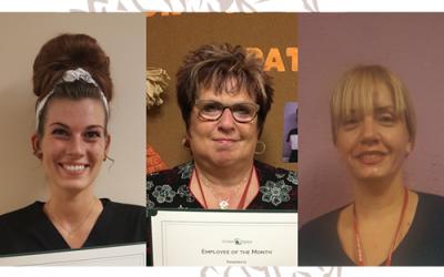 Congrats! November Employee of the Month Award Winners