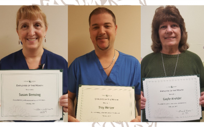 February Employees of the Month