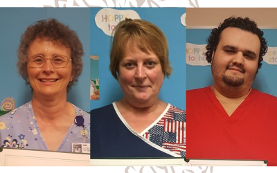 Congratulations April Employees of the Month!