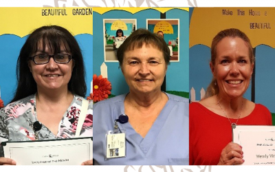 Congrats May Employees of the Month