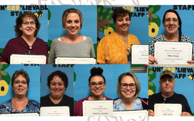 Congratulations June Employees of the Month and Quarterly Recognition Award Recipients!