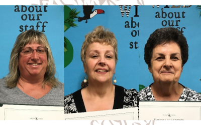 Congrats July Employees of the Month 2017