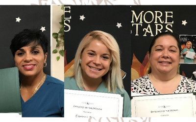 "Congrats to ""S'more Stars,"" Our August Employees of the Month"
