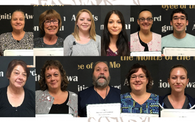 Congrats September Employees of the Month & Quarterly Recognition Award Recipients