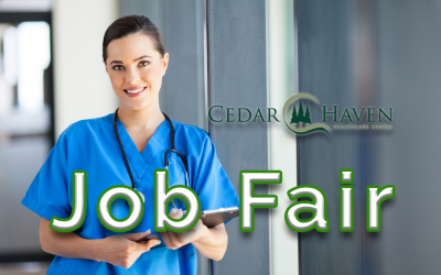 Job Fair on Dec 14th, 1-4pm