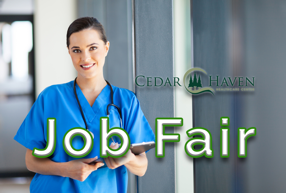 Job Fair, Feb 7th 1-4pm