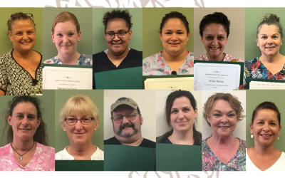 Congrats June Employee of the Month and Quarterly Recognition Award Winners!