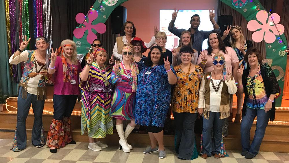 70's Disco Dance Party at Cedar Haven!