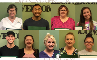 Congrats September Employees of the Month and Quarterly Recognition Award Winners!