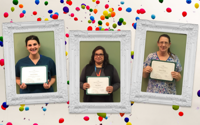 Congratulations January Employee of the Month Award Winners