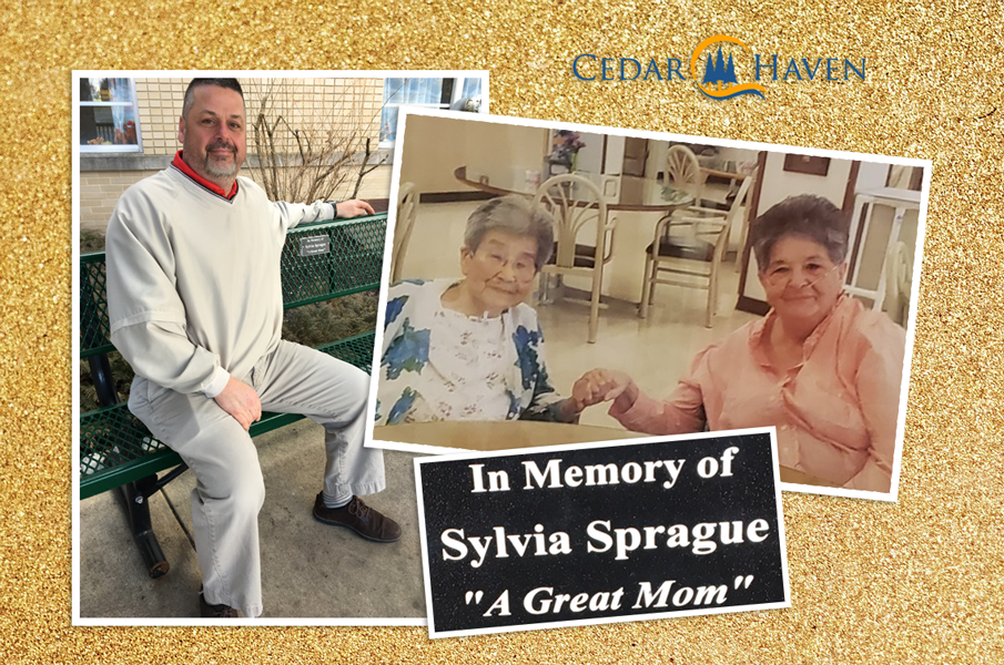 """Great Mom"": Sylvia ""loved everybody and was loved by all"" at Cedar Haven"