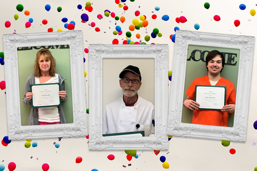 Congratulations February Employees of the Month!