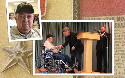 Honoring our own World War II Hero
