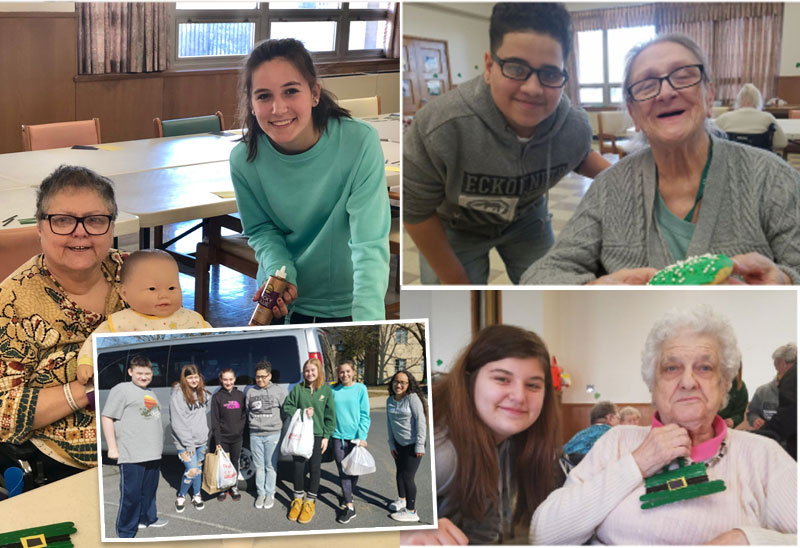 Cedar Crest Students Plan Intergenerational Festivities for Cedar Haven Residents