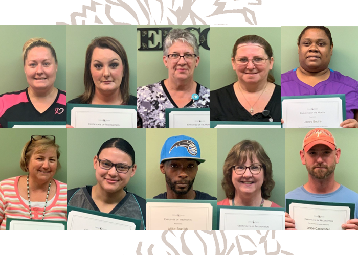 Congratulating our Stellar Employees of the Month (June)
