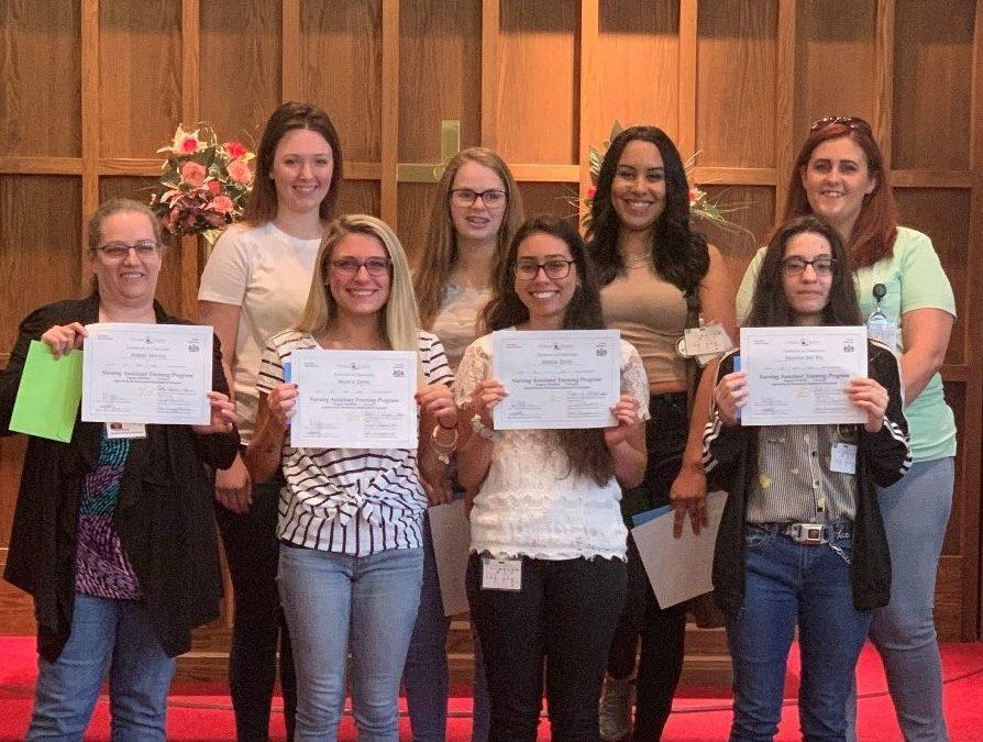 Congratulations June NAT (Nursing Assistant Trainee) Graduates!