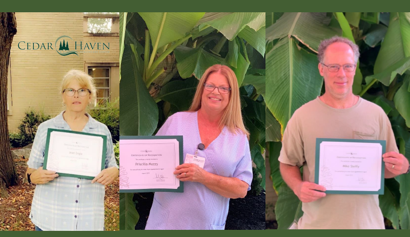 Congratulations August Employees of the Month!