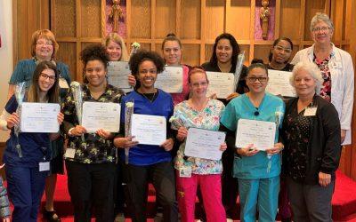 Congratulations Nursing Assistant Trainee Class Graduates