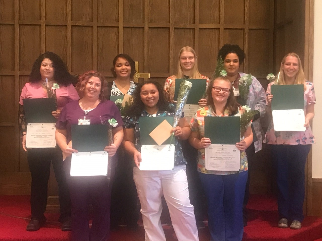 March Graduates Free CNA Certification Course Pennsylvania