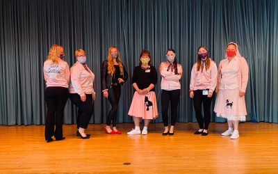 50's day photos: Pink Ladies and T-birds at Cedar Haven