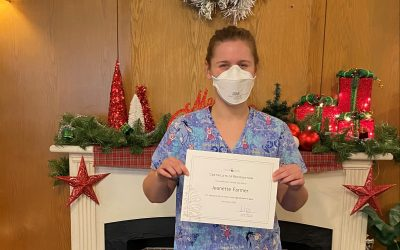 Congratulations Jeanette Farmer – Employee of the Week!