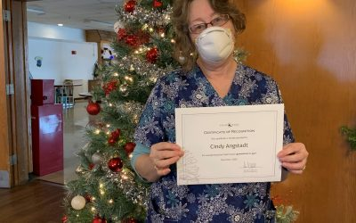 Congratulations Cindy – Employee of the Week!