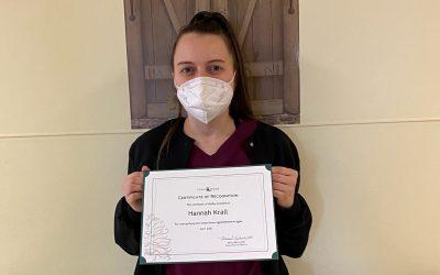 Staff Spotlight: Hannah Krall, LPN