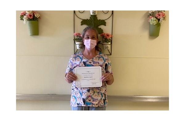 Staff Spotlight: Andrea Joynt, LPN