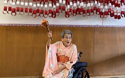 Celebrating the Tokyo Olympics at Cedar Haven